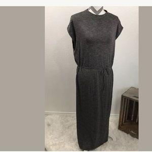 Anthropologie Mockneck Midi Dress By Dolan Left